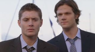 S3 red sky, sam and dean