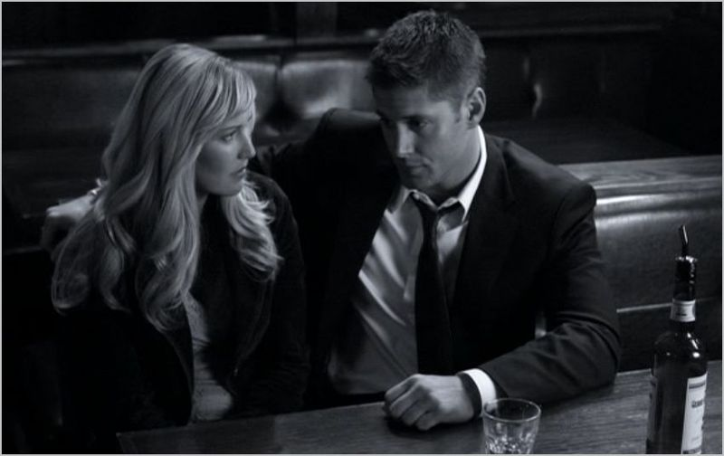 Monster movie, dean and girl