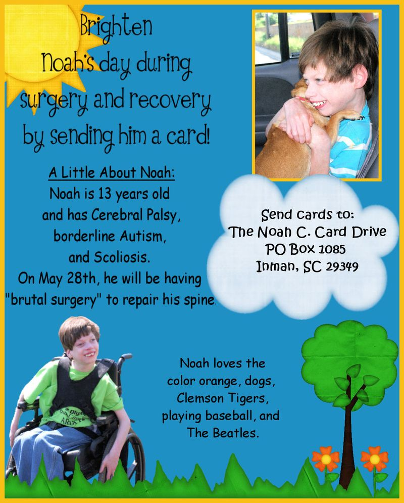 Noahs Card Drive E Flyer2