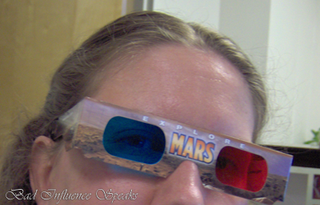 Mars 3d glasses