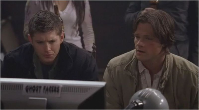 Ghostfacers, sam and dean