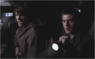 Hell house, sam and dean