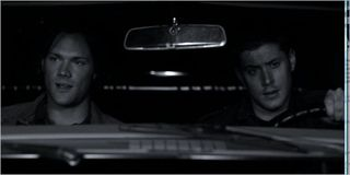 Monster movie, sam and dean