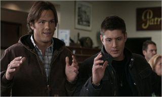 Criss angel, sam and dean