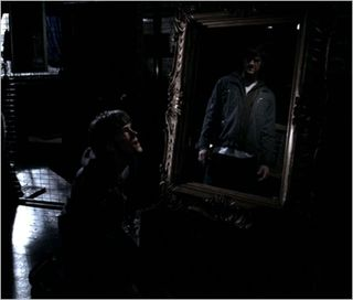 Bloody mary, sam in mirror