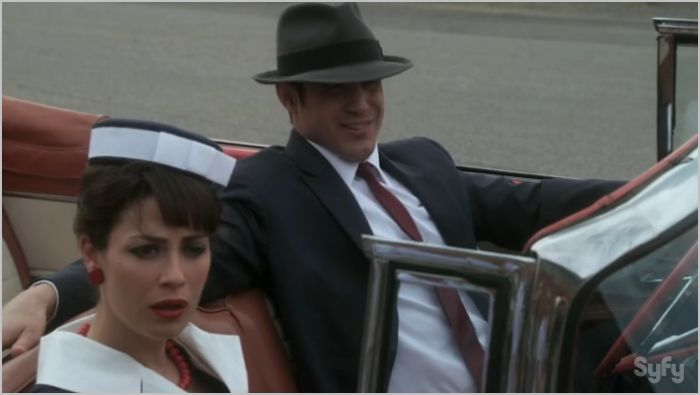 Warehouse 13, where and when, pete and myka