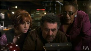Warehouse 13, buried, claudia, artie, frederic