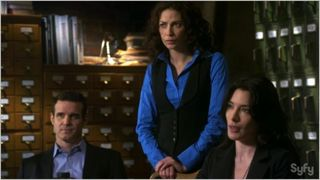 Warehouse 13, buried, pete, myka, hg