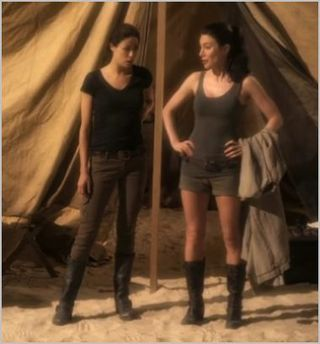 Warehouse 13, buried, myka and hg