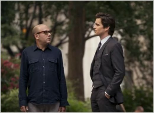 White collar, payback, mozzie and neal