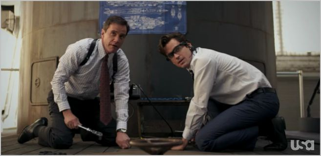 White collar, under the radar, peter and neal 2