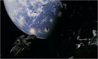 Miniseries, caprica from space