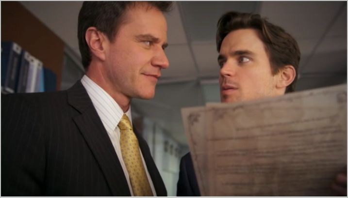 White collar, usanetwork, where there's a will, neal and peter