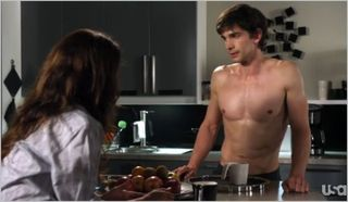 Covert Affairs, fool in the rain, liza and auggie