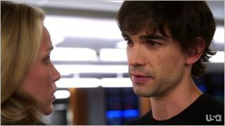 Covert affairs, when the levee breaks, auggie and annie 2