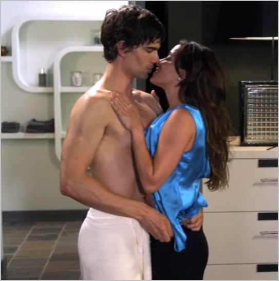 Covert affairs, communication breakdown,  auggie and liza