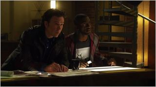 Leverage, long way down job, hardison and nate