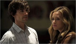 Covert affairs, sad professor, annie and auggie