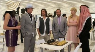 Leverage, the queen's gambit job, team