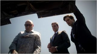 White collar, on the fence, mozzie, neal and peter
