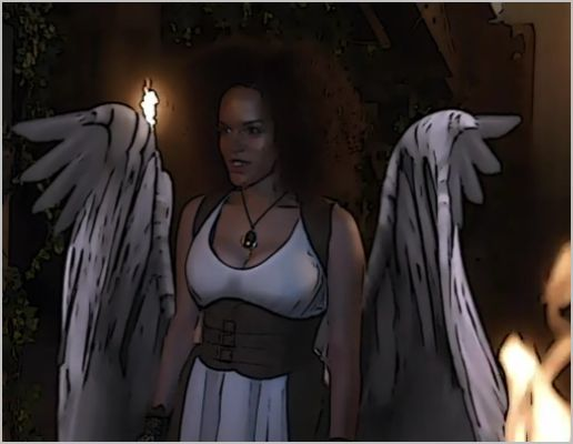 Warehouse 13, don't hate the player, leena