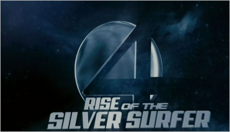Fantastic four, rise of the silver surfer logo