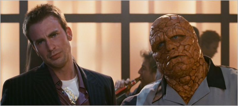 Fantastic four, rise of the silver surfer, johnny and ben 2