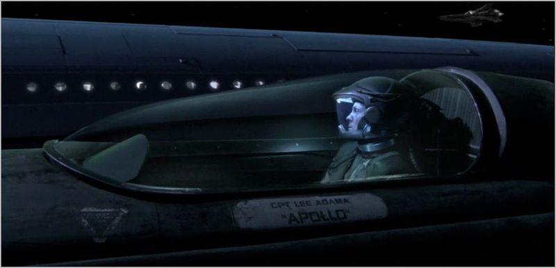 Battlestar galactica, 33, apollo in viper