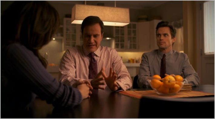 White collar, veiled threat, el, peter and neal