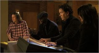 Leverage, grave danger, nate and parker