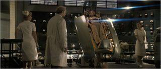 Captain america the first avenger, dr. erskine, steve rogers, and nurses