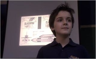 Eureka, this one time at space camp, young zane