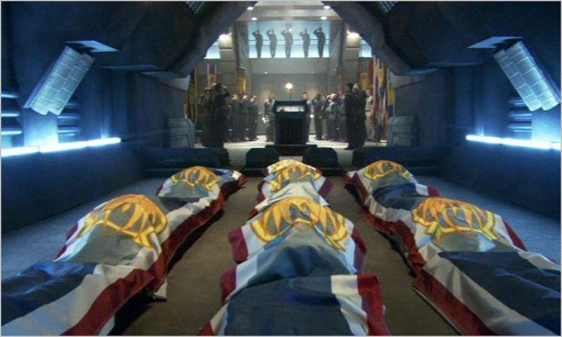 Battlestar galactica, bsg, act of contrition, coffins