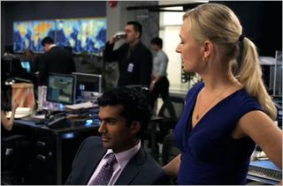 Covert Affairs, all the right friends, annie and carlo