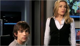 Covert affairs, world leader pretend, annie and auggie