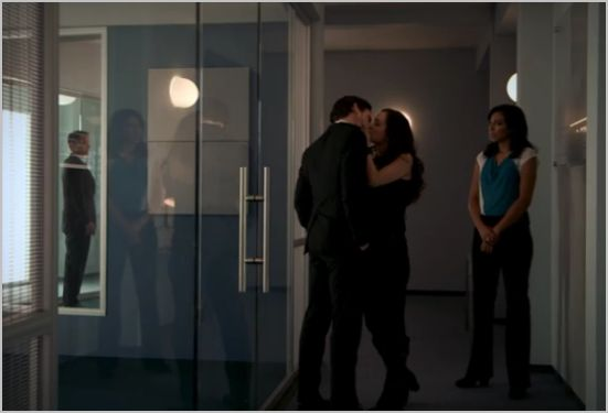 White collar, on the fence, neal and raquel