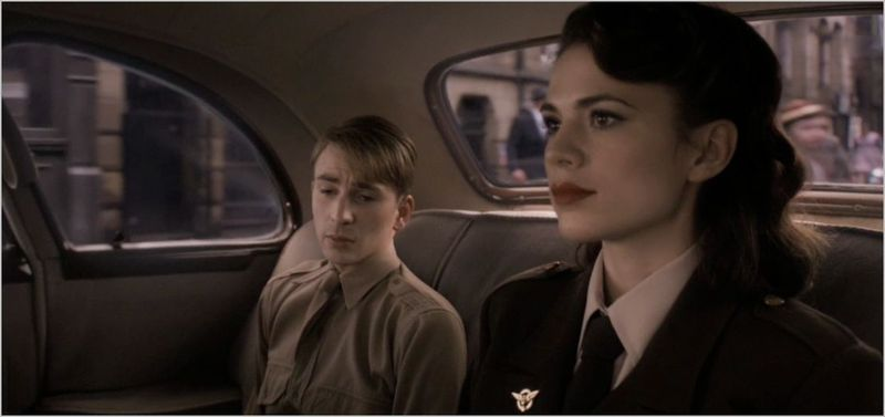 Captain america the first avenger, steve rogers and peggy carter