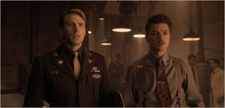 Captain america the first avenger, captain america and howard stark