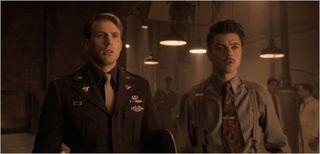 Captain america the first avenger, captain america and howard stark