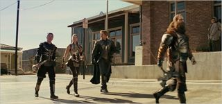 Thor, Hogun, Volstagg, Sif, and Fandral 2