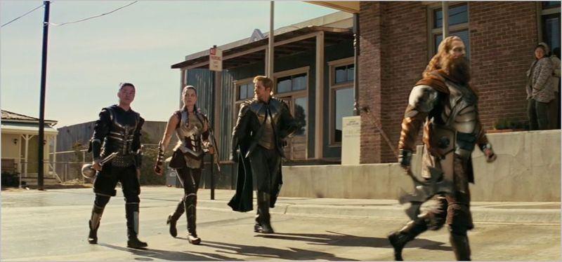 Thor, volstagg, hogun, fandral, and sif 2
