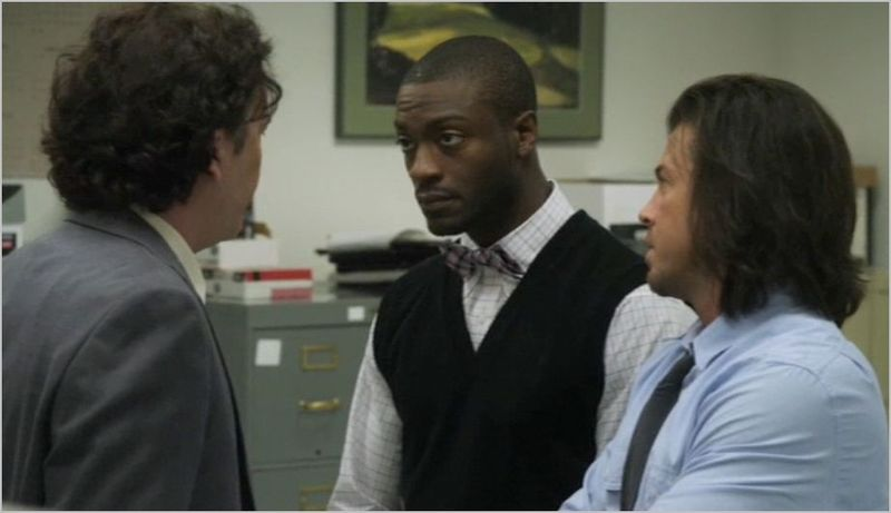 Leverage, the office job, nate, eliot and hardison