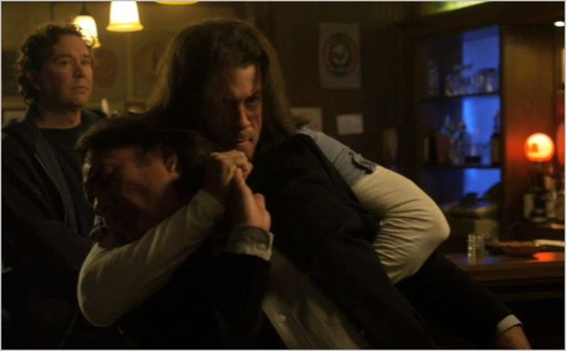 Leverage, the lonely hearts job, nate and eliot