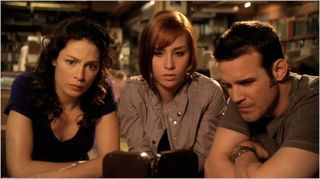 Warehouse 13, nevermore, myka, claudia and pete