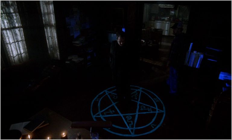 Supernatural, weekend at bobby's, bobby and crowley
