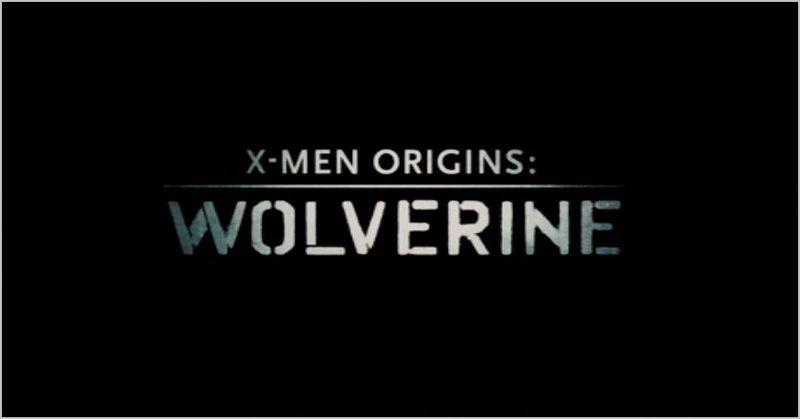 X-men origins wolverine, logo