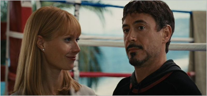 Iron Man 2, tony and pepper