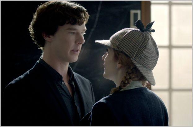 Sherlock, the reichenbach fall, sherlock and journalist