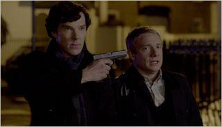 Sherlock, the reichenbach fall, sherlock and watson 2