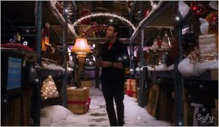 Warehouse 13, the greatest gift, pete on christmas aisle